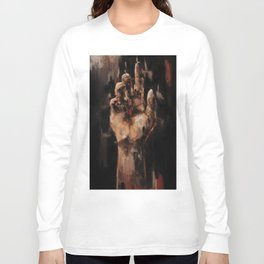 Sitting In Silences Long Sleeve T-shirt