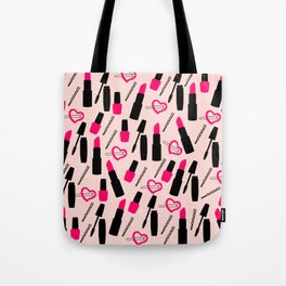Cute Makeup Tote Bag
