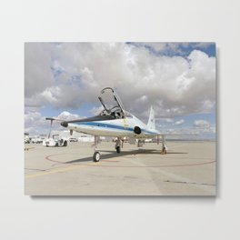 952. Formerly at NASA's Langley Research Center, this Northrop T-38 Talon is now used for mission support and pilot proficiency at the Dryden Flight Research Center Metal Print