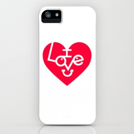 Lovely Love Heart iPhone Case