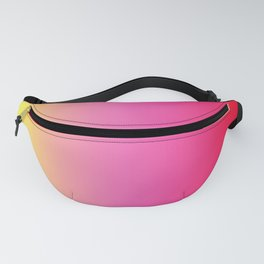 Red Pink Yellow Gradient Fanny Pack