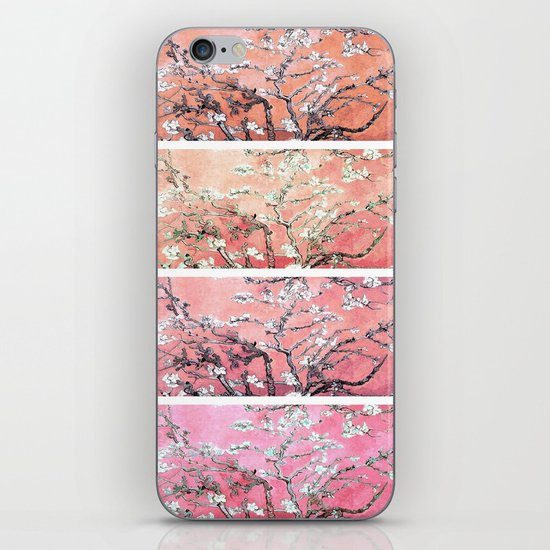 Vincent Van Gogh Almond Blossoms Panel Pink Peach by purelove