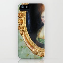 Roccoco Apple blossom iPhone Case
