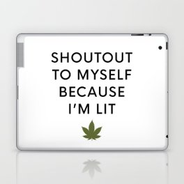I am Lit Laptop & iPad Skin