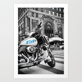 NYPD Blues Art Print