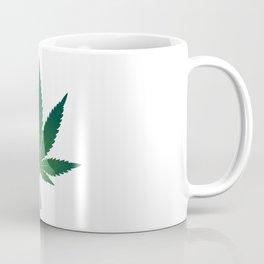 Marijuana leaf illustration Coffee Mug