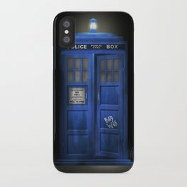 """Death – The Doctor's Truest Companion"" iPhone Case"