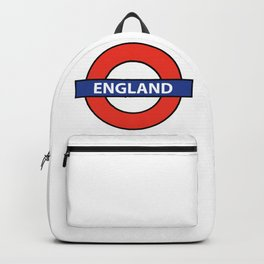 England Underground Sign Backpack