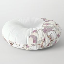Orchid waterfall Floor Pillow