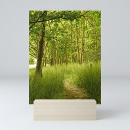 The Woodland Path Mini Art Print