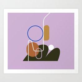Listening Art Print