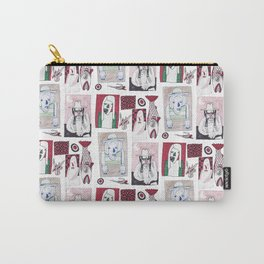 Red, White and Bait Carry-All Pouch
