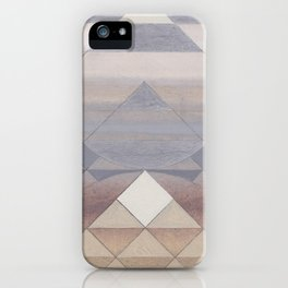 Pyramid Sun Fog iPhone Case
