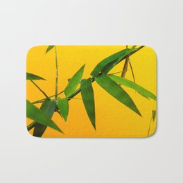 Bamboo Leaves Bath Mat