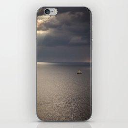 Ship on the Sea iPhone Skin