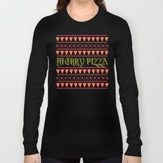 Merry Pizza Long Sleeve T-shirt