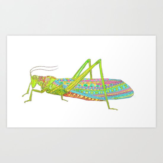 Hoppah Art Print