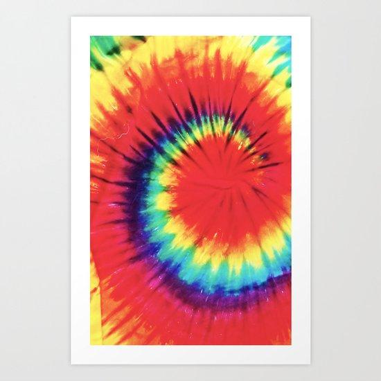 Dye High Art Print