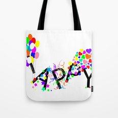 Just Happy Tote Bag