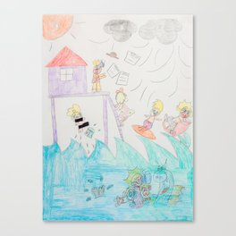 Kelly Bruneau #20 Canvas Print