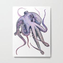 Another Ocotopus Metal Print