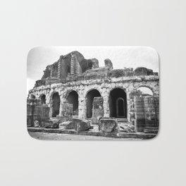 Roman Amphitheatre in Capua, Italy Bath Mat