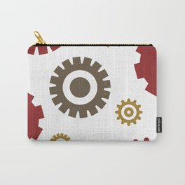 Steam Age Gears Carry-All Pouch