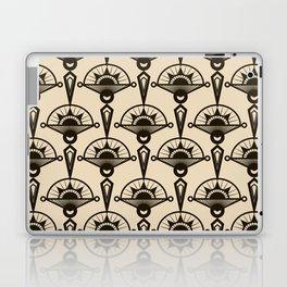 Seamless antique pattern art deco stylish print Laptop & iPad Skin