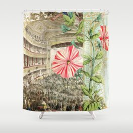 A Night At The Theatre Shower Curtain