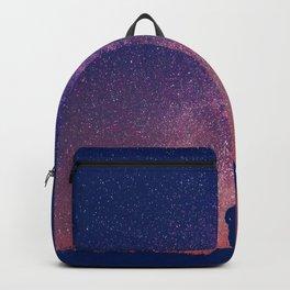 Gazing into Infinity   Night Sky   Star Galaxy Backpack