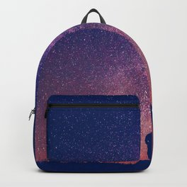 Gazing into Infinity | Night Sky | Star Galaxy Backpack