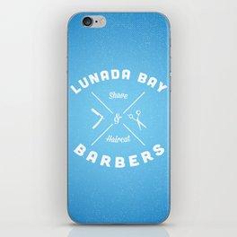 Barber Shop : Lunada Bay Barbers iPhone Skin