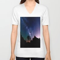 milky way V-neck T-shirts featuring the milky way. by 2sweet4words Designs