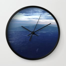 Santa Fe Blues Wall Clock