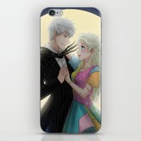 nightmare before christmas iPhone & iPod Skins featuring Nightmare Before Christmas by frozenblume