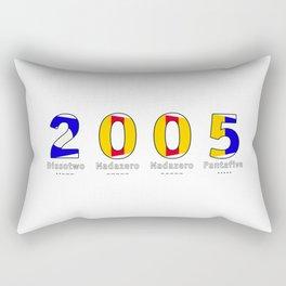 2005 - NAVY - My Year of Birth Rectangular Pillow