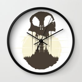 Castle Wall Clock