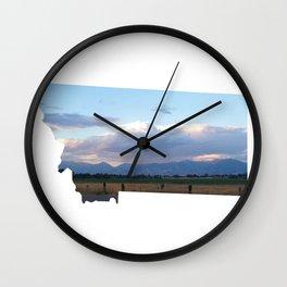 Montana ii Wall Clock