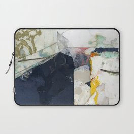 White Landscape from an Aerial View Laptop Sleeve