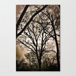 The Wake Canvas Print