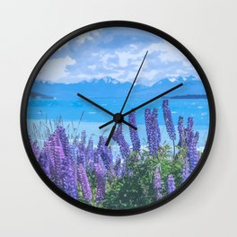 Serene Scenery Wall Clock