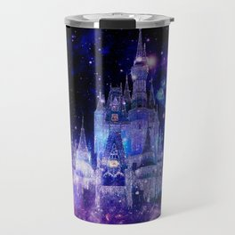 Celestial Palace : Purple Blue Enchanted Castle Travel Mug