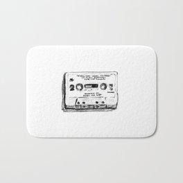 80's Series Cassette Tape #3 Bath Mat