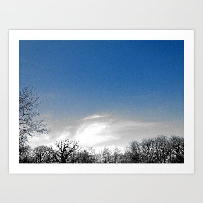 Earth to Sky Art Print