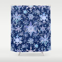 Snowflakes #3 Shower Curtain