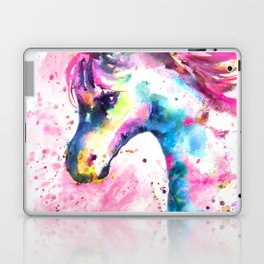 Pink Unicorn Laptop & iPad Skin