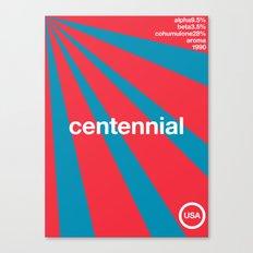 centennial//single hop Canvas Print