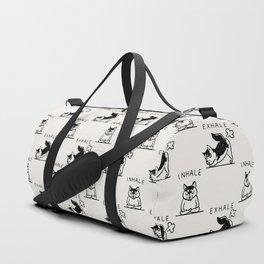Inhale Exhale Husky Duffle Bag