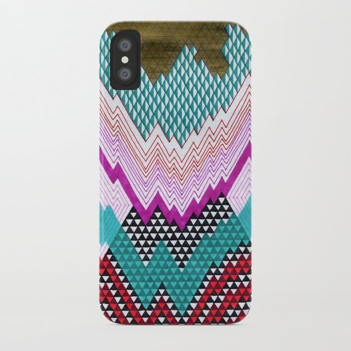 Isometric Harlequin #5 iPhone Case