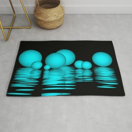 spheres and reflections -103- Rug